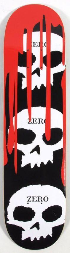 Deck Zero Team 3-Skull Blood Black Classic 8,125