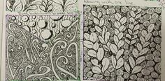 Learning Zentangle With One A