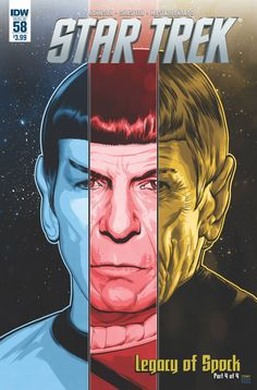 """The stunning conclusion of """"Legacy of Spock""""! The fate of the Vulcan people hangs in the balance as Spock tries to prevent all-out war with the Romulan Empire! Will the Vulcans find a new homeworld on"""