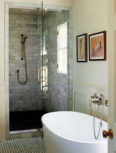 cool for kids bathroom or a master style for guests. If we have big house built =)