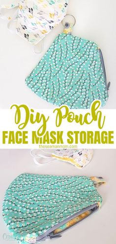 Tired of forgetting it and having to get back to your car or house for a mask? Here is a simple pattern for a face mask pouch so that you can make quick pouches for everyone in your family! #easypeasycreativeideas #sewing #sewingtutorials #sewingpattern #sewingproject #facemask #facemaskpouch #pouchpattern #sewingwithscraps #easysewingproject #sewingforbeginners Diy Sewing Projects, Sewing Projects For Beginners, Sewing Tutorials, Sewing For Kids, Free Sewing, How To Make Skirt, Pouch Pattern, Easy Sewing Patterns, Simple Pattern