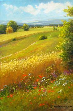 "G. Nesvadba ""Swaying Wheatfield"" http://www.artshopnc.com/component/content/article/318.html"