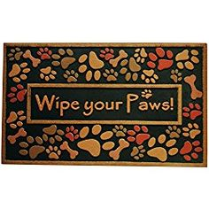 Amagabeli Outdoor Welcome Mats For Front Door Mat Wipe Your Paws Nonslip  Rug For Patios 18