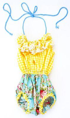 Cute for little girls in summer! My daughter won't wear a bikini until she's 16.