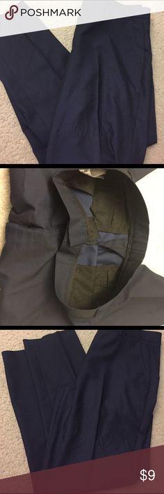 Top Man Dress pants! 34/30 Like new dress pants by top man! Nice dark navy blue! Slim fit! Top Man Pants Dress