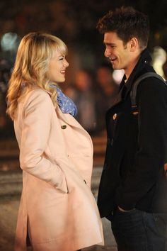 Emma Stone with Andrew Garfield | GossipCenter - Entertainment News Leaders
