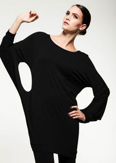 This avant-garde is a winner! Available in 5 hot colours for Fall2014 Fashion, Avant Guard, Fall 14, Style Clothes, Love Fashion, Tunic, Comfy, Colours, My Style