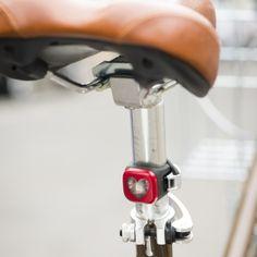 Knog blinder on bike
