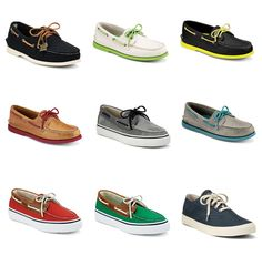 thefreecloset:    Sperry Top Sider Shoes