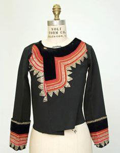 // French folk jacket