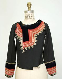 French folk jacket