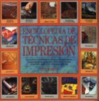 enciclopedia de tecnicas de impresion-judy martin-9788486673444