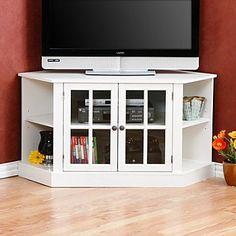 Traditional Corner Tv Console