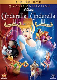 Cinderella 2-Movie DVD Collection | www.DisneyMovieClub.go.com #best #disney #movies