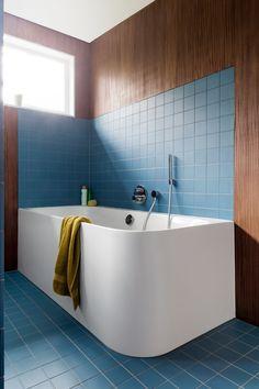Eclectic Bathroom, Bathroom Interior Design, Interior Decorating, Bathroom Renos, Laundry In Bathroom, Bathroom Inspiration, Interior Design Inspiration, Inside A House, Upstairs Bathrooms