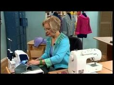 ▶ 503-2 Londa Rohlfing shows how to create sweatshirt jackets on It's Sew Easy - YouTube