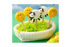 You've had cake pops, but these Oreo-based treats take half the time to make and look just as cute. Dress them up as chicks and lambs to brighten your Easter table. Get the instructions at Country Kitchen.  - WomansDay.com