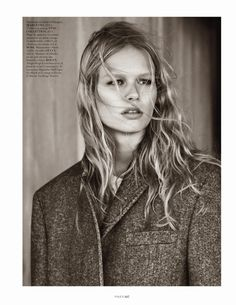 hamptons: anna ewers by josh olins for vogue paris october 2013 | visual optimism; fashion editorials, shows, campaigns & more!