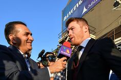 @canelo and @gggboxing hit the red carpet in a star studded event in #hollywood #CA 📸 @seeyouringside #caneloggg #boxeo #boxing #fight #fighter #fighting #goldenboy #guadalajara