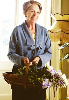 ~Isobel Crawley (Penelope Wilton) Matthew's mother~