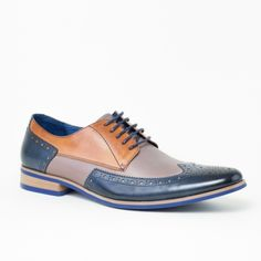 Bout D'aile Chaussures Richelieu En Cuir Brun - Brun Wright Franc MgvWasjm