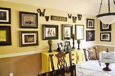 Decorating with Portraits  @yourhomebasedmom.com  #familyphotos,#portraits,#homedecor