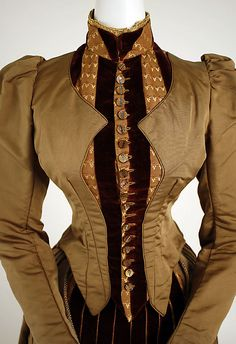1886 dress bodice details via MMA.