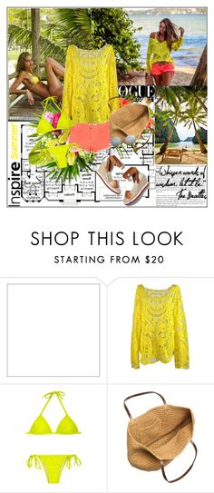 """Summer colors"" by gifra ❤ liked on Polyvore featuring Cullen, STELLA McCARTNEY, J.Crew and Ray-Ban"
