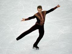 Alexander Majorov (SWE) performs in the mens short program.