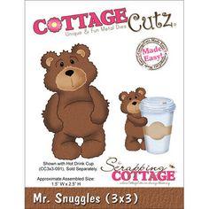 Cottage Cutz Die Mr. Snuggles