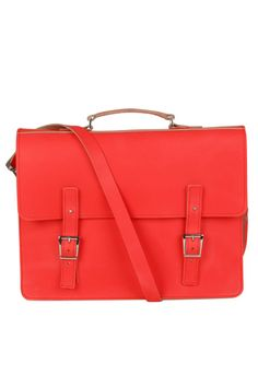 Brit-Stitch Leather Laptop Bag, $249.34, available at The Hut.