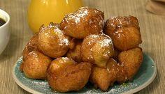 The Best Ricotta Honey Dessert Recipes on Yummly The Chew Recipes, Sweet Recipes, Cooking Recipes, Yummy Recipes, Ricotta Fritters, Honey Dessert, Delicious Desserts, Yummy Food, Yummy Appetizers