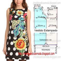 Dress Sewing Patterns, Sewing Patterns Free, Clothing Patterns, Sewing Clothes, Diy Clothes, Clothes For Women, Dress Tutorials, Sewing Tutorials, Fashion Sewing