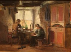 Harriet Backer (1845- 1932) was a Norwegian painter