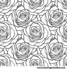 Image result for flower adult coloring pages