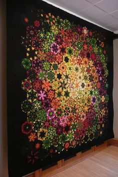 Bruce H. Seeds - of his wonderful One Block Wonder quilts. -- Another great one block wonder! One Block Wonder, Patchwork Quilting, Crazy Quilting, Quilting Projects, Quilting Designs, Quilting Ideas, Kaleidoscope Quilt, Hexagon Quilt, Hexagon Patchwork