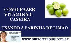 Como fazer vitamina C Caseira - Receita de cápsulas caseiras de vitamina C