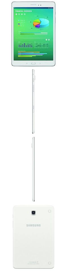 computers: Samsung Galaxy Tab A Sm-T350nzwaxar 8-Inch Tablet, 16Gb, Wi-Fi, White -> BUY IT NOW ONLY: $139.99 on eBay!