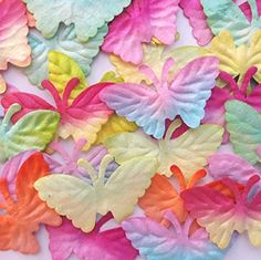 Butterfly Mulberry Paper Scrapbooking Decorations 2528 mm 50 Pcs >>> Want to know more, click on the image.Note:It is affiliate link to Amazon.