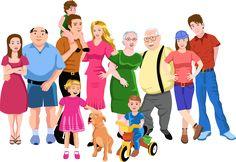 familia grande - Google Search