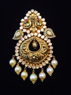 Ear Rings, Pendant Set, Lockets, Chain Pendants, Receptions, Gold Jewellery, Indian Jewelry, Brooches, Traditional