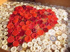 ...button heart