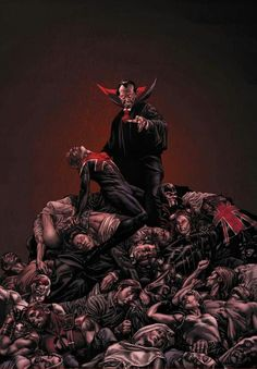 Dracula. Best character in the Marvel Universe. Or any other.