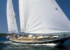 Cherubini Yachts, classic sail boats, speed boats, and runabouts.