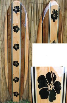 TIKI SOUL DECORATIVE SURFBOARD SURF ART - Native Hawaiian  Surfboard decor, beach decor, surfer, decorative surfboard wall art