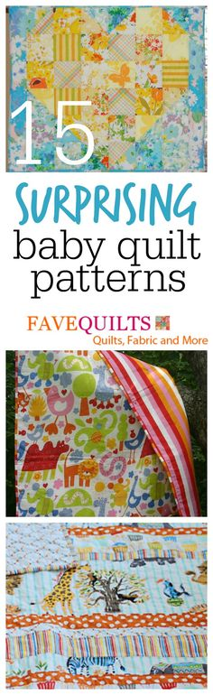 Easy Baby Quilt Patterns for Beginners: 15 Surprising Baby Quilt Ideas