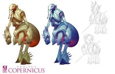 A sampling of Creature Designs from the cancelled Project Copernicus MMO