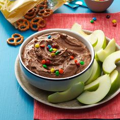 Brownie Batter Dip Recipe -I'm all about the sweeter side of dips, and this brownie batter one pretty much fits in with my life's philosophy: Chocolate makes anything better. Grab some fruit, cookies or salty snacks and start dunking. —Mel Gunnell, Boise, Idaho