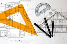 technical drawing house - Google Search