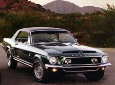 1968 Shelby EXP500 Coupe Prototype